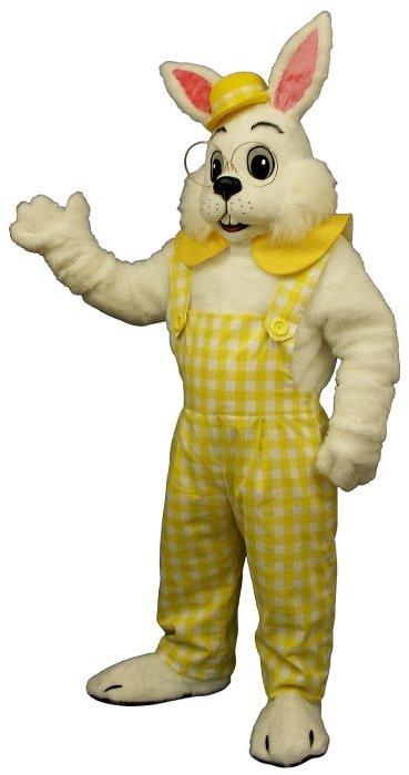 Eggbert Deluxe Bunny Mascot Costume