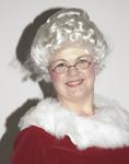 Deluxe Mrs. Santa wig
