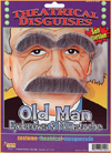 Old Man Eyebrows and Moustache