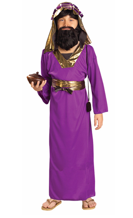 Children's Purple Wiseman