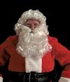 Santa Wig, Beard & Mustache Set -Standard